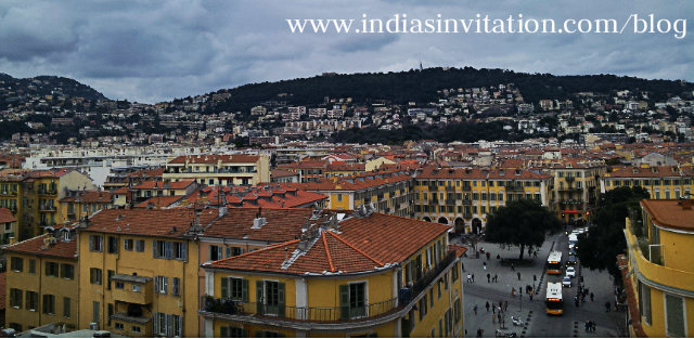 A pictures of City of Nice in France
