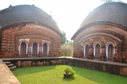 Char Bangla Temple in Murshidabad
