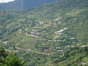 Hills in Bomdila