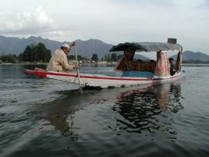 Lake in Srinagar